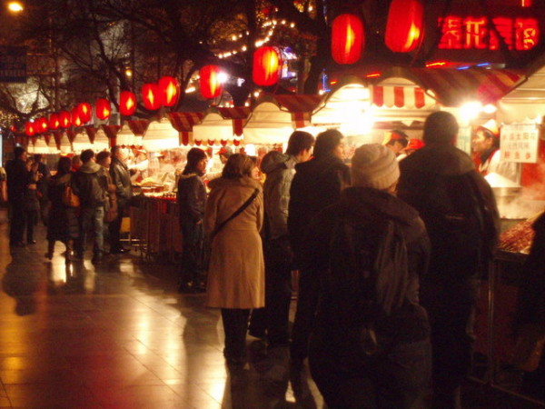 The Night Market in Beijing is just as much a regular stop for locals as it is a sight to see for tourists.