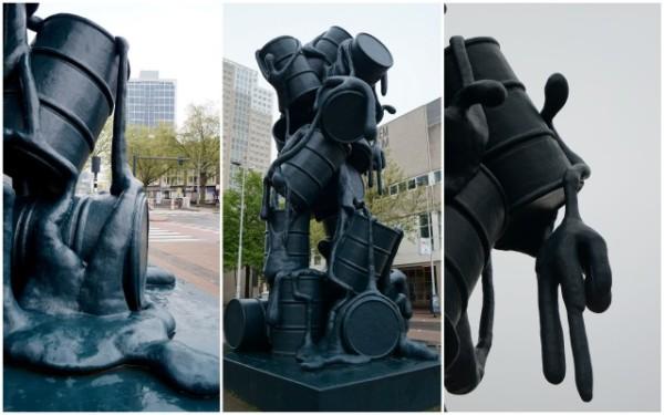 Rotterdam art - Cascade
