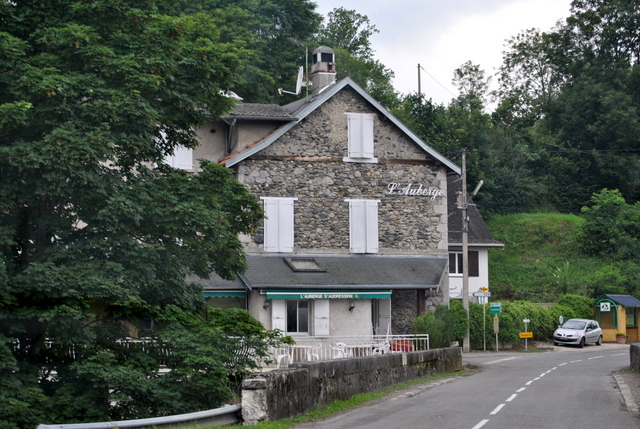 Forget all the amazing places to eat in Paris, this hotel in the teeny town of Audressein in the Pyrénées served the best meal I have eaten in France.