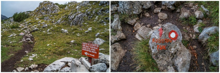 Hiking trails in Durmitor National Park