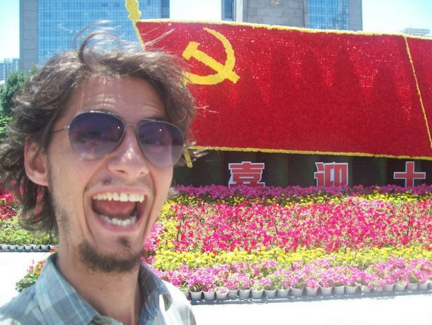 Nenad in China. (He let me raid his Facebook albums. All photos in this post are his.)
