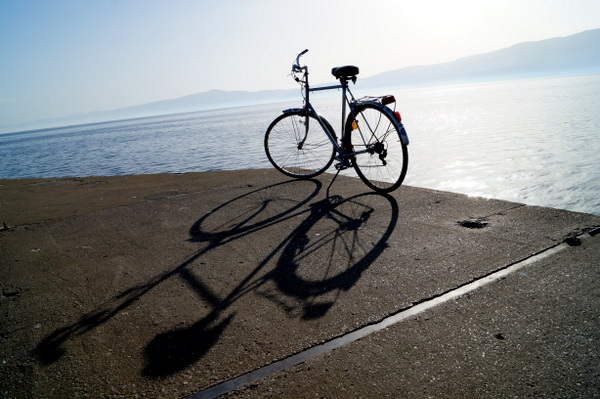 Bike ride from Ohid to Struga