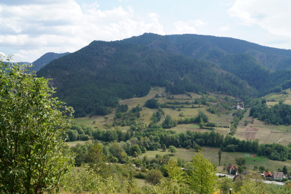 The view from Drvengrad.