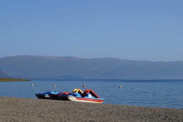 Lake shore near Struga
