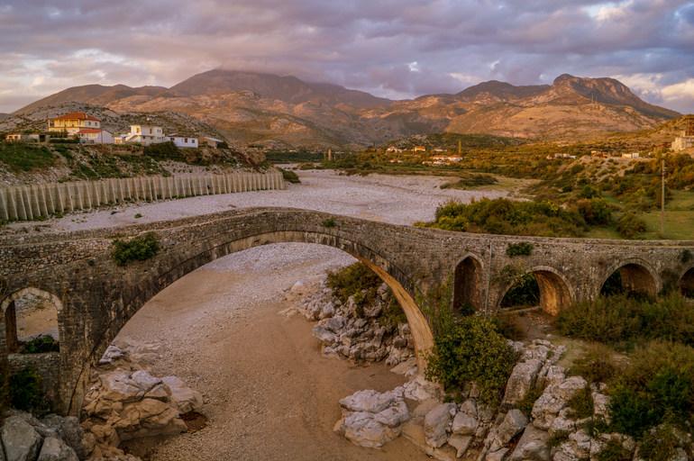 Mes Bridge, Shkodra, Albania