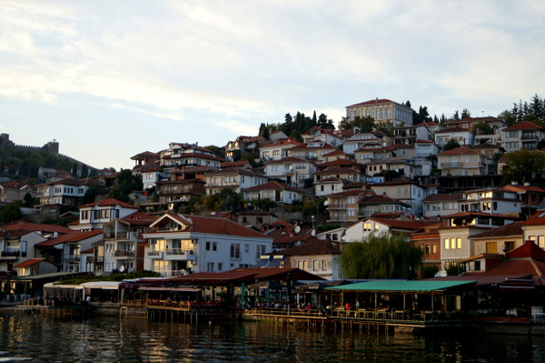 Ohrid from the water
