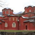 The Patriarchate of Peć is an important and beautiful Serbian Orthodox monument. It's also a monument in danger. The Serbian church lies well within the territory of Kosovo and is protected by high stone walls, wire fences and a gun-carrying Italian guard.