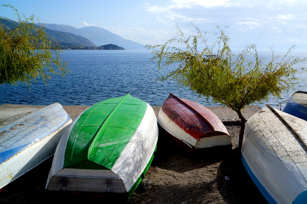 Ready for the water, Ohrid