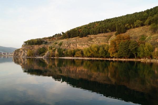 Reflections on Lake Ohrid
