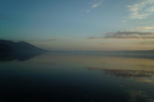Sunset cruise, Lake Ohrid