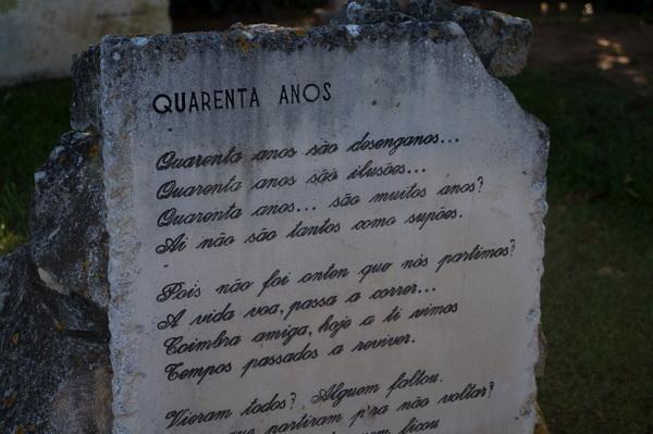 Headstone at Penedo Da Saudade