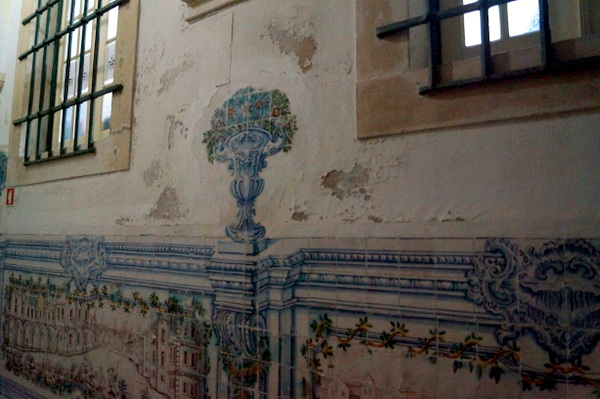 Inside Coimbra univeristy