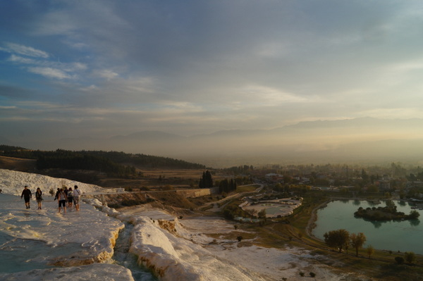 Landscape around Pamukkale
