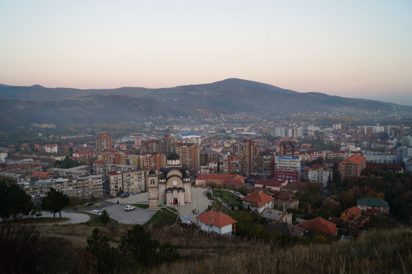 Mitrovica from Miners Hill