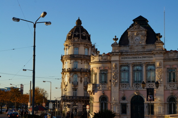 Pretty buildings in