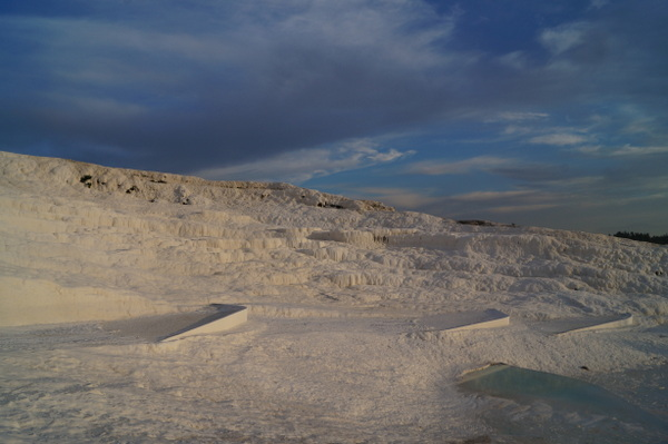 The travertines at Pamukkale