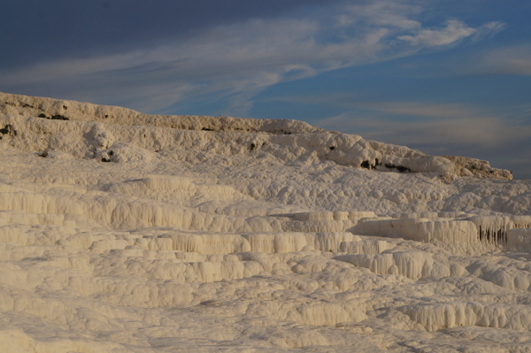 The white cliffs of Pamukkale