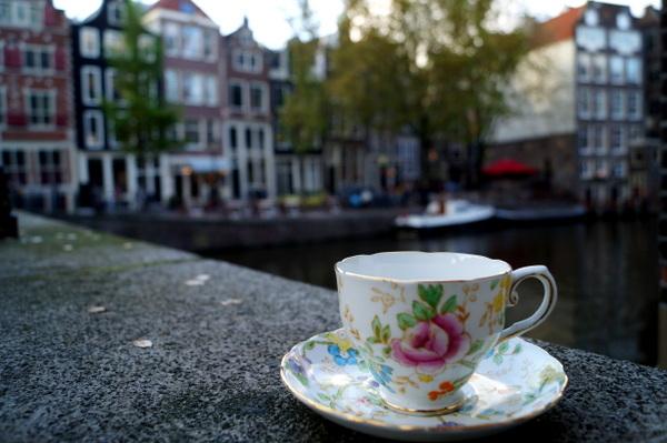 Just chillin in Amsterdam.