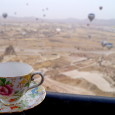 Photographing a trinket, toy or mascot on the road isn't a new concept. But I've still never seen another teacup. This year my teacup visited 13 countries and even went hot air ballooning in Turkey. Check out what it got up to in 2013.