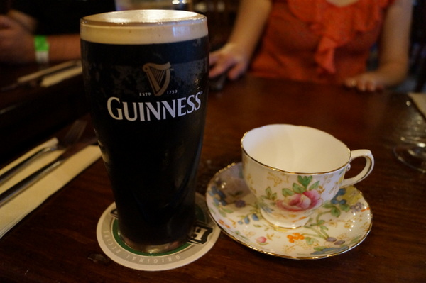 Yep. It came to the pub in Ireland while I drank my first Guinness.