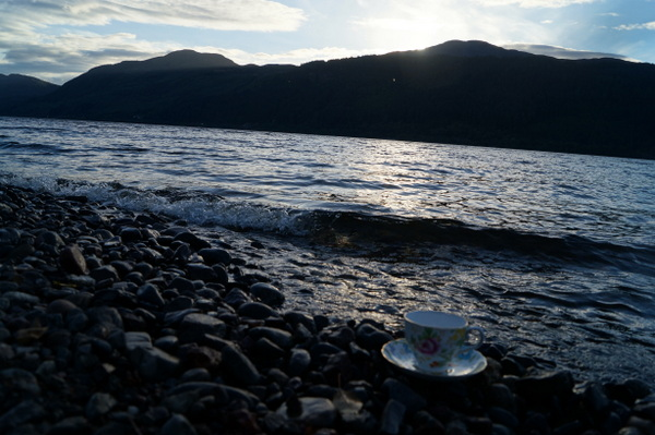 On the shores of Loch Ness, Scotland.