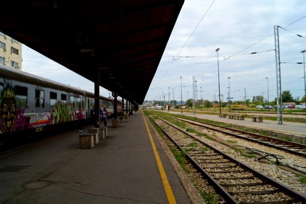 Belgrade Station, Belgrade to Bar Railway