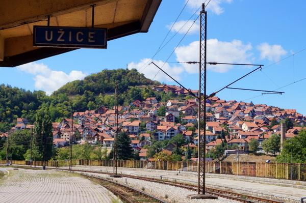 Uzice - Belgrade to Bar Railway