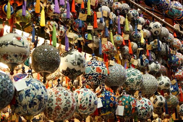 Display at the Grand Bazaar