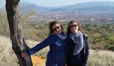 I met Aleksandra on my first trip to Nis and visited again six weeks later to catch up!