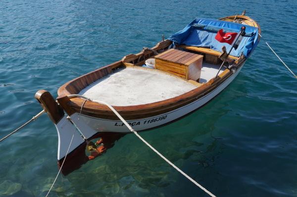 Boat in Foca