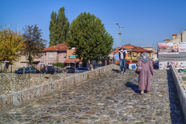 Old Stone Bridge in Prizren