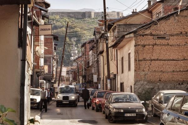 Streets in Peja
