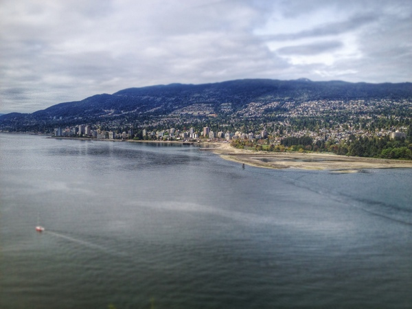 View of North Vancouver from Prospect Point