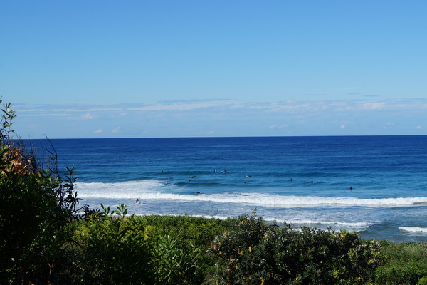 Surfers at Mona Vale