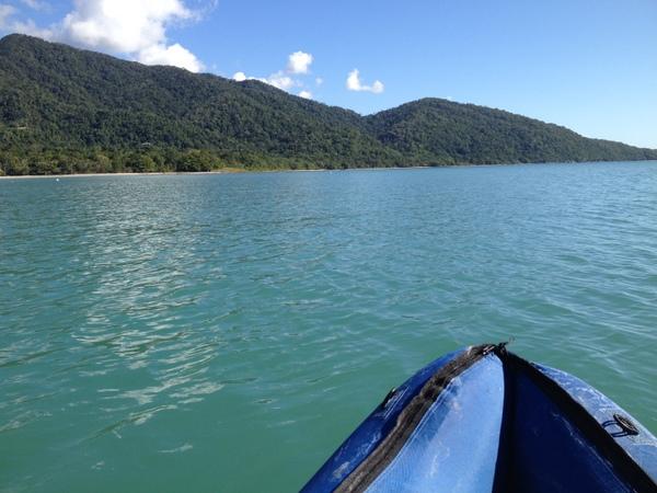 Kayak at Cape Tribulation