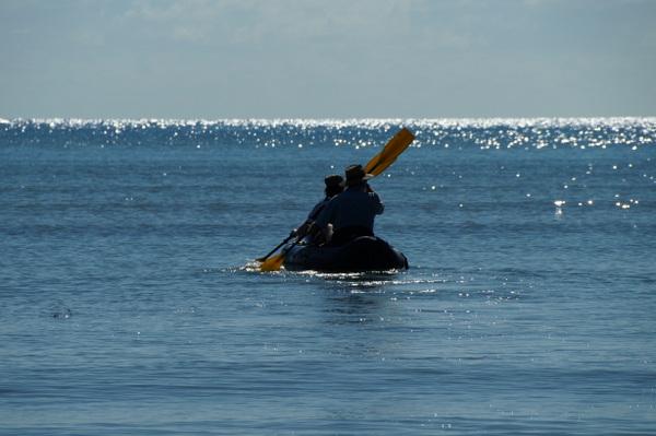 Kayaking at Cape Tribulation