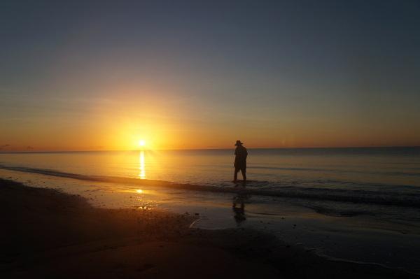 Sunrise on Myall Beach