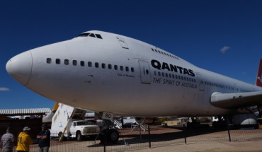 Boeing 747 at Qantas Founders Musuem