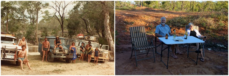 Dad's camping style 1982 2014