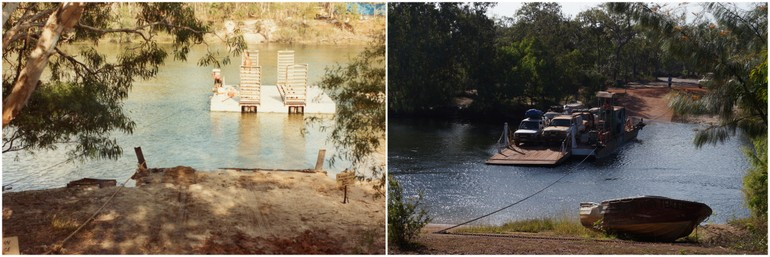 Jardine River crossing 1982 2014