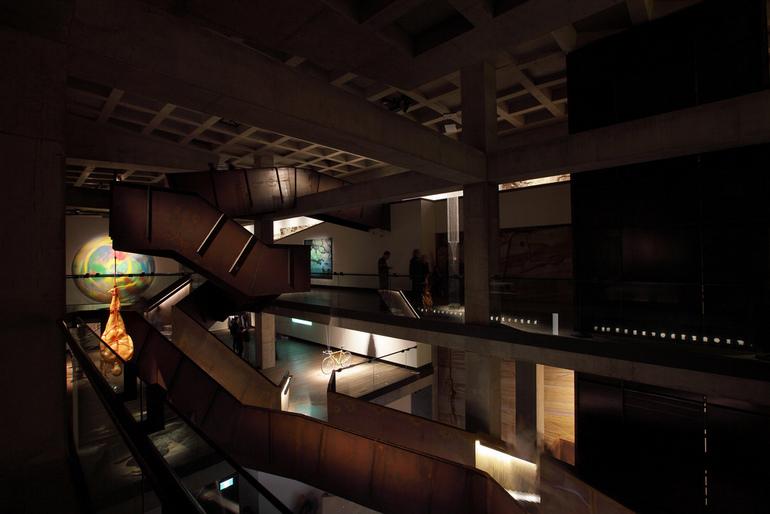 MONA staircase Leigh Carmichael