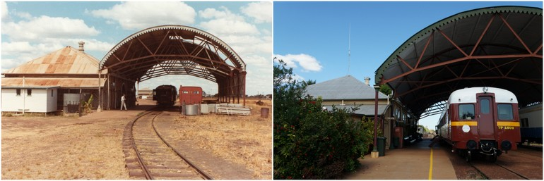 Normanton Station 1982 2014