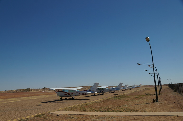 Birdsville air strip