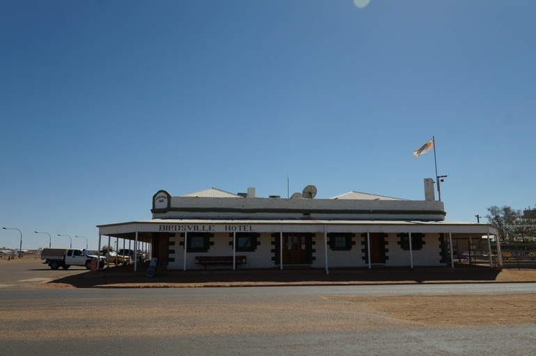 Birdsville hotel outside