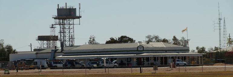 Birdsville water towers