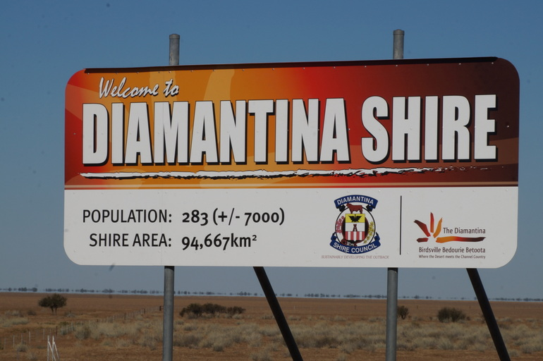 Diamantina Shire