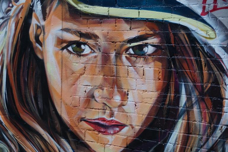 Portrait in Hosier Lane