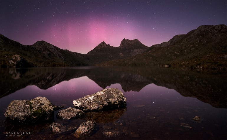 Aurora at Cradle - Aaron Jones Photography