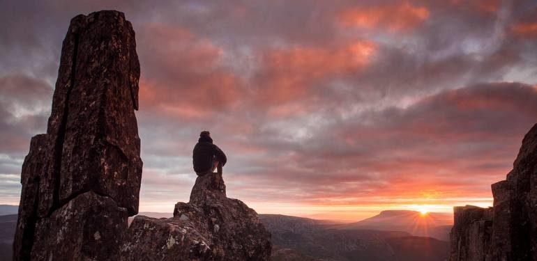 Mountain Sunrise feature shot