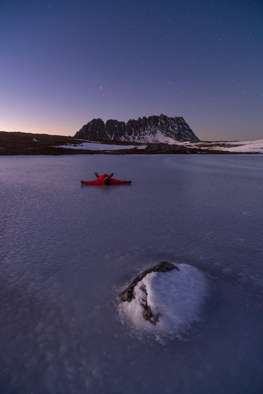 On a frozen lake - Aaron Jones Photography